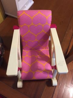 Doll chair that hooks to table east pearland porch pick up
