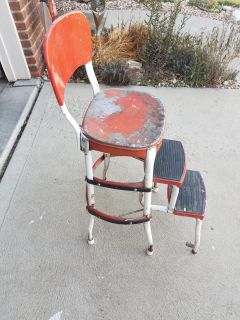 Old fold out stool