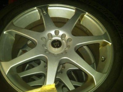 Buy FULL SET 4 Motegi MR7 Wheels w/ 4 Excellent Snow tires (Nashua, NH) motorcycle in Fort Pierce, Florida, US, for US $525.00