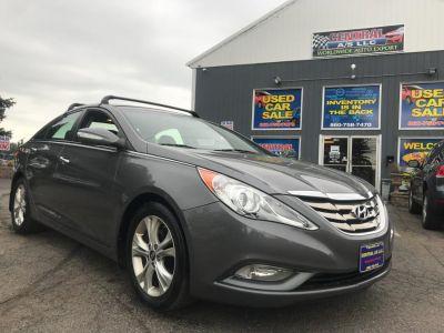 2011 Hyundai Sonata Limited (Harbor Gray Metallic)