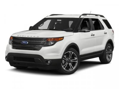 2014 Ford Explorer Sport (Black)