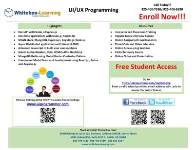 UI/UX Programming and QA (Quality Assurance) / QE (Quality Engineering)
