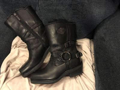 Authentic Harley Davidson boots size 7