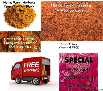 Vindaloo Curry powder, Order now, FREE shipping & a free gift