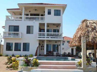 3 Story Beautiful Beachfront Custom-Built Home in Belize