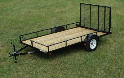 2018 MASTERYDE 6 X 10 SA UT Equipment Trailer Trailers Lagrange, GA