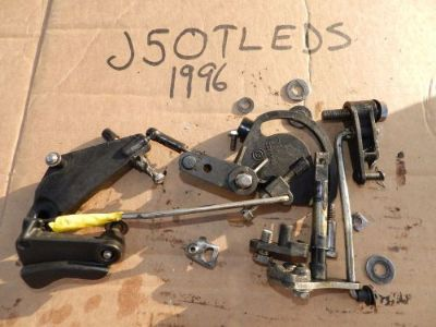 Sell 1996 Johnson 50hp J50TLEDS Throttle Carb Timing Linkage Cams Lot Evinrude 48 40 motorcycle in Port Charlotte, Florida, United States, for US $20.20