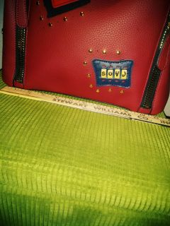 Large Red MK TOTE