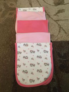 5 gerber burp rags - ppu (near old chemstrand & 29) or PU @ the Marcus Pointe Thrift Store (on W st)
