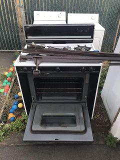 Extra large 5 burner gas oven