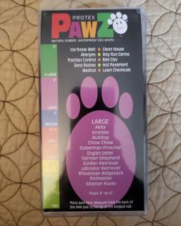 Rubber Dog paw boots