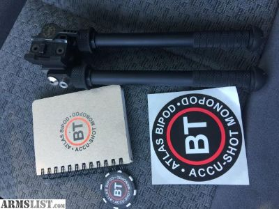 For Sale: Brand new Atlas bipod (7-13) with Larue Mount