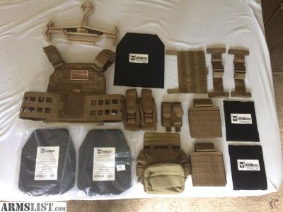 For Sale: AR500 plate carrier package