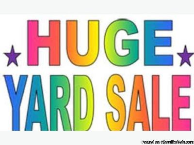 Huge Veterans Yard Sale