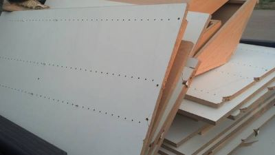 34 inch and 1 inch panels