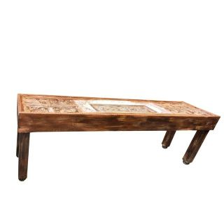 Antique Indian Tribal Haveli Console