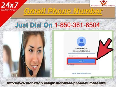 Dial gmail l Phone quantity and relax at 1-850-361-8504