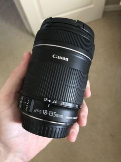 Lightly Used Canon 18-135mm Telephoto Lens