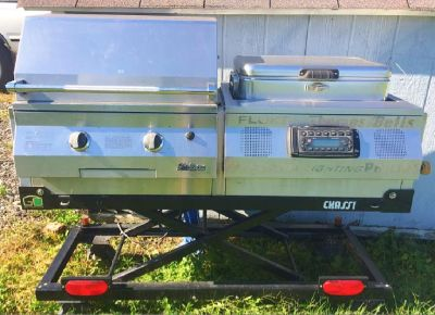 Solaire infrared gas grill tailgater system!