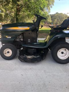 CRAFTSMAN LT1000 RIDING MOWER