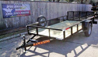 2019 Ranch King WT106-24FMR Utility Trailers Katy, TX