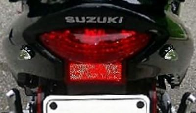Sell Black/Clear FLUSH LED REAR TURN SIGNALS for Honda Kawasaki Suzuki Yamaha motorcycle in Laguna Hills, California, US, for US $6.96