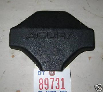 Purchase ACURA 86 INTEGRA Steering Wheel Center Trim Black 1986 motorcycle in Clarion, Pennsylvania, US, for US $25.00