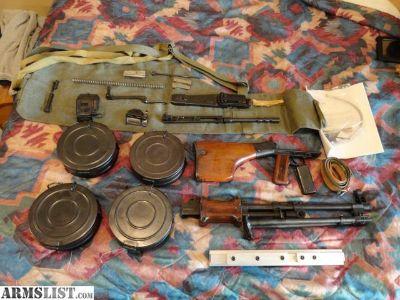 For Sale: Polish 1959 RPD Parts Kit