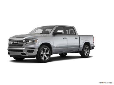2019 RAM 1500 LARAMIE CREW CAB 4X4 (Billet Silver Metallic Clearcoat)