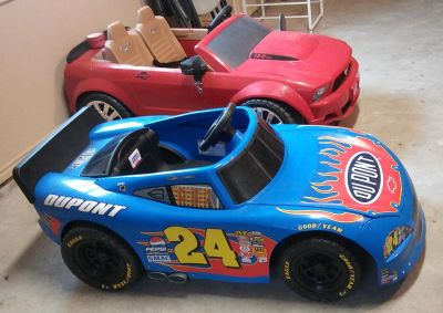 Free Delivery Today Only - 2 Ride On Kid Cars