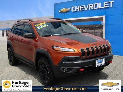 2015 Jeep Cherokee Trailhawk (Mango Tango)