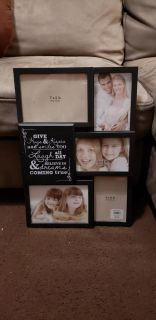 Photo Frame Collage Wall Decor. Excellent Condition