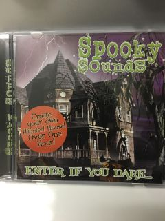 Spooky Sounds CD New in case ( See Other Photo)