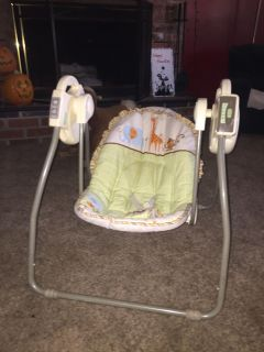 Travel swing and bath seat