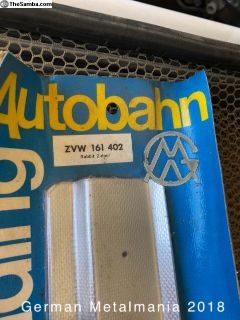 NOS VW Rabbit door sill plates ZVW 161 402