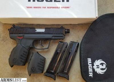 For Sale: Ruger SR22 with threaded barrel
