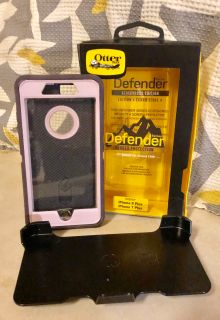 Otterbox Defender Pink Black IPhone 7&8 Plus Cell Phone Case & Holder