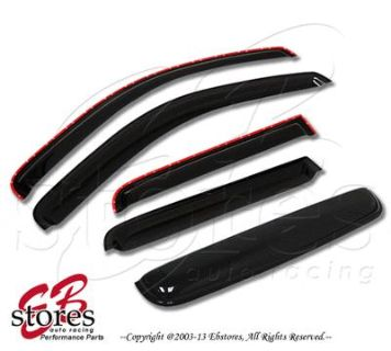 Find Vent Shade In-Channel Window Visor Sunroof 5pc Combo Hummer H2 03-09 4 Door motorcycle in La Puente, California, US, for US $53.95