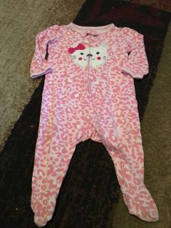 Child of mine 6-9m pink cat onesie - ppu (near old chemstrand & 29) or PU @ the Marcus Pointe Thrift Store (on W st)