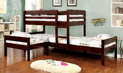 ***Triple Bunk Bed with Trundle**Several Styles and Colors***