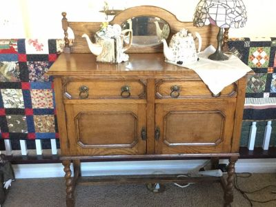 English Antique Sideboard