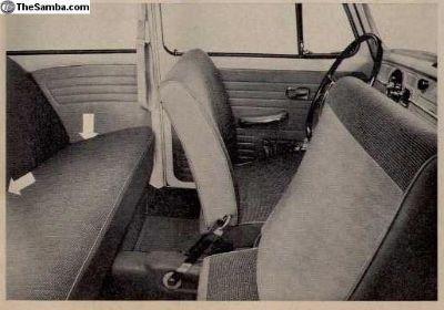 VW 111-857-755 Seatbelt Stirrup