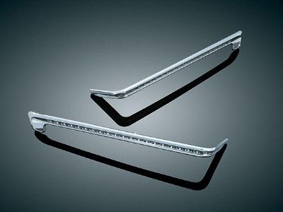 Purchase KURYAKYN CHROME UNLIGHTED SIDE TRIM FOR TOURPAK HARLEY TOURING 06-13 motorcycle in Gambrills, Maryland, US, for US $73.84