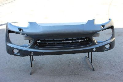 Find 11 12 13 2011 2012 2013 PORSCHE CAYENNE FRONT BUMPER COVER GRAY GREY GEUINE OEM motorcycle in Sun Valley, California, US, for US $438.00