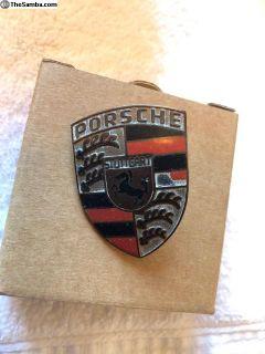 Genuine Porsche 356 Hood Handle Crest
