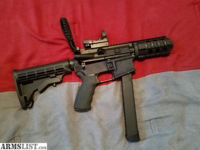 For Sale: AR 15 9mm conversion 80% lower