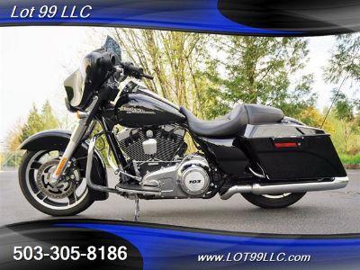 "2012 Harley-Davidson CUSTOM Street Glide Bagger 103"" (Black)"