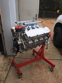 540-inch twin turbo big block ford. (Gasoline engine)