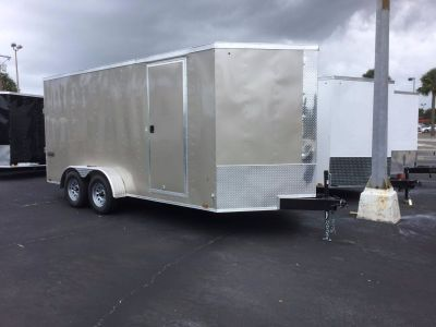 2020 Cargo Express XLW7X14TE2 Extra Tall Cargo Trailers Fort Pierce, FL