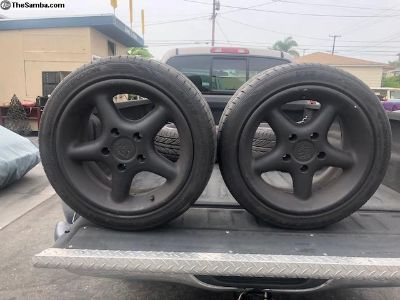 Antera Porsche rims and tires